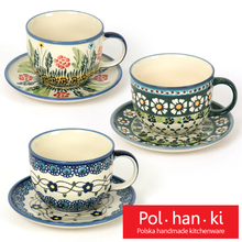 [polhanki] 폴란드그릇 - 라떼 찻잔 세트