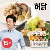 [허닭] 닭가슴살 큐브/한입 큐브 100g 15팩