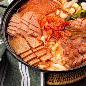 [외갓집] 송탄 서정리 부대찌개 1kg+1kg (총2kg)(라면사리 2개 추가)