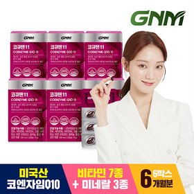 [GNM자연의품격]코엔자임Q10 6박스 (총 6개월분)
