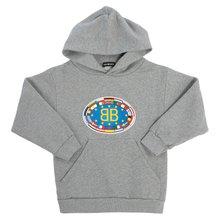 [발렌시아가 키즈] BB 플래그 후드 558143 THV43 1241 키즈 긴팔 기모 맨투맨 티셔츠
