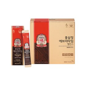 [정관장] 홍삼정 에브리타임 밸런스(10ml*30포) 1박스