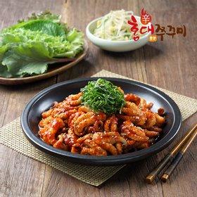 [홍대쭈꾸미] 매콤쫄깃 쭈꾸미볶음 300g 6팩 (매운맛/약간매운맛 택1)