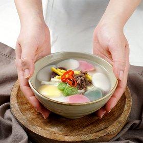 [아침빛바다]오색떡국떡 1kg x 4봉 (국내산 멥쌀)