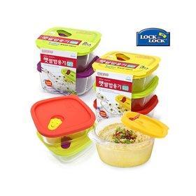 [락앤락]글라스 3-6종세트 모음전 (햇쌀밥용기/이유식용기/스팀홀/오븐글라스)