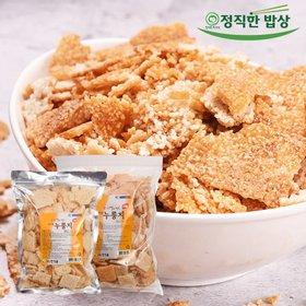 [한식품]하나씩 꺼내먹기좋은 100% 우리쌀 구수한누룽지 3kg+3kg(지퍼팩이라 안심~!)