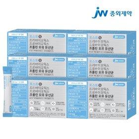 JW중외제약 포스트 프리 프로 바이오틱스 프롤린 모유 유산균 6박스 (180포)