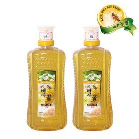 [백화농원]달콤한 벌꿀 2kg+2kg