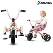 줄라이카 접이식 세발자전거 J9 폴딩 트라이크 블루 핑크/유아 어린이 아기 자전거