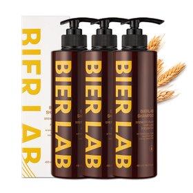 [추가증정][비어랩] 독일 맥주효모 탈모 샴푸 490ml 3통 (+옵션 선택 1)