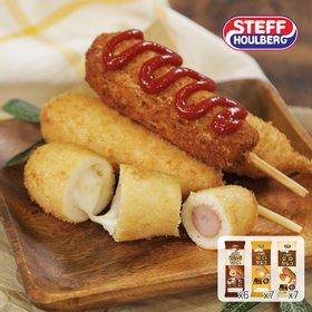 [스테프] 스테프 핫도그 20팩(크리스피5+체다5+모짜5+감자5)
