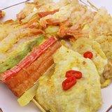 명절 튀김요리세트 노바시 새우 40미 300g+맛살270gx2+명태포700g